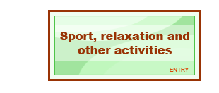 Sport, relaxace a ostatní aktivity