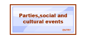 Večírky, spolčenské a kulturní akce